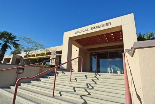 Medical Examiner Entrance